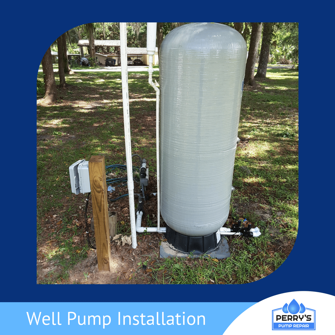 well pump installation new well pump Perry's Pump Repair Gainesville, FL