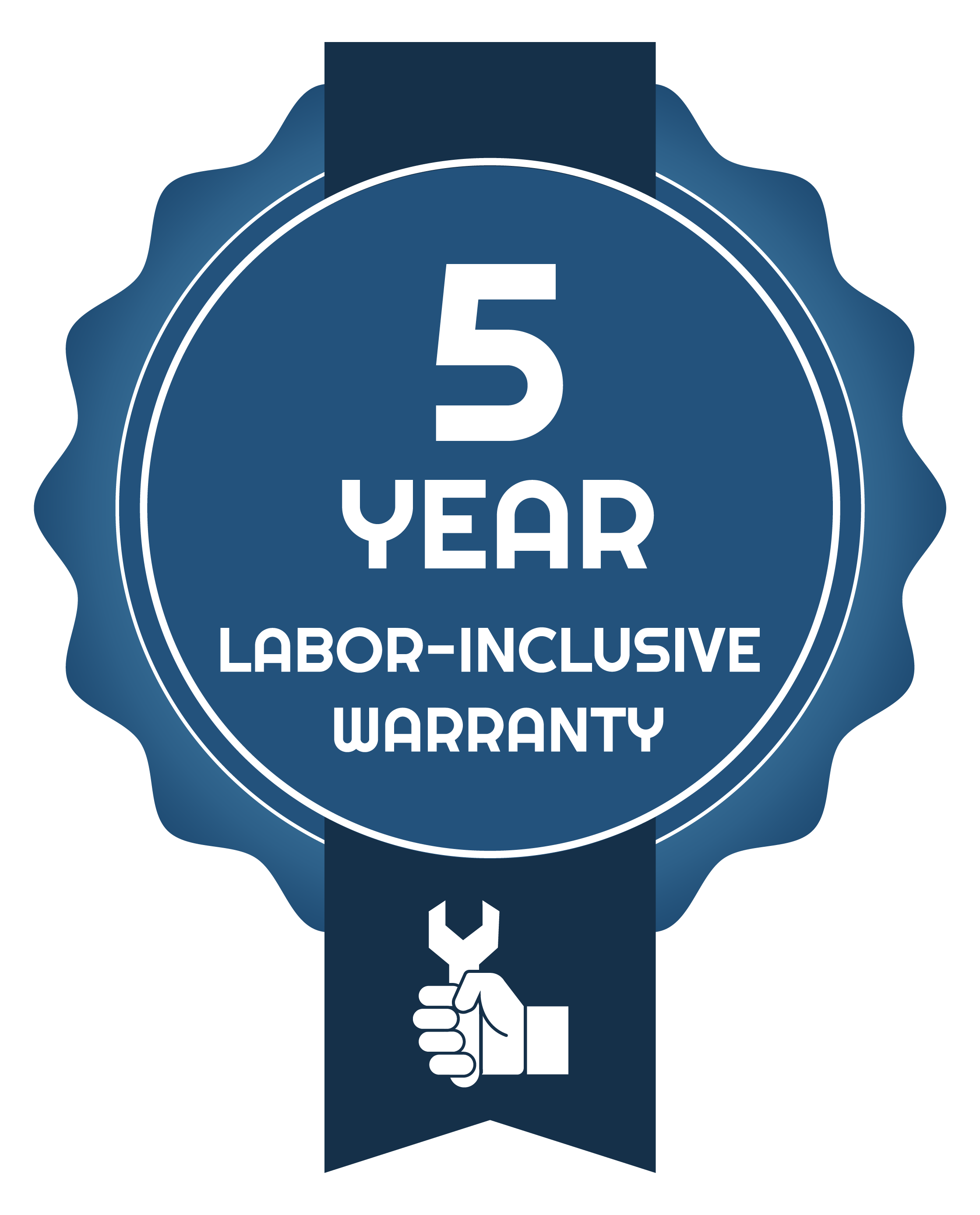 5 year labor inclusive warranty Perry's Pump Repair Gainesville Ocala FL