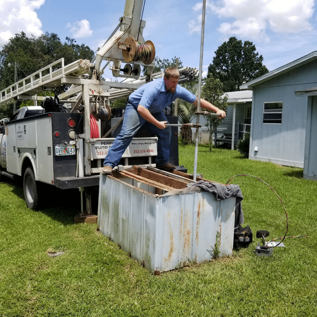 well pump water pump installation gainesville ocala jacksonville Perry's Pump Repair