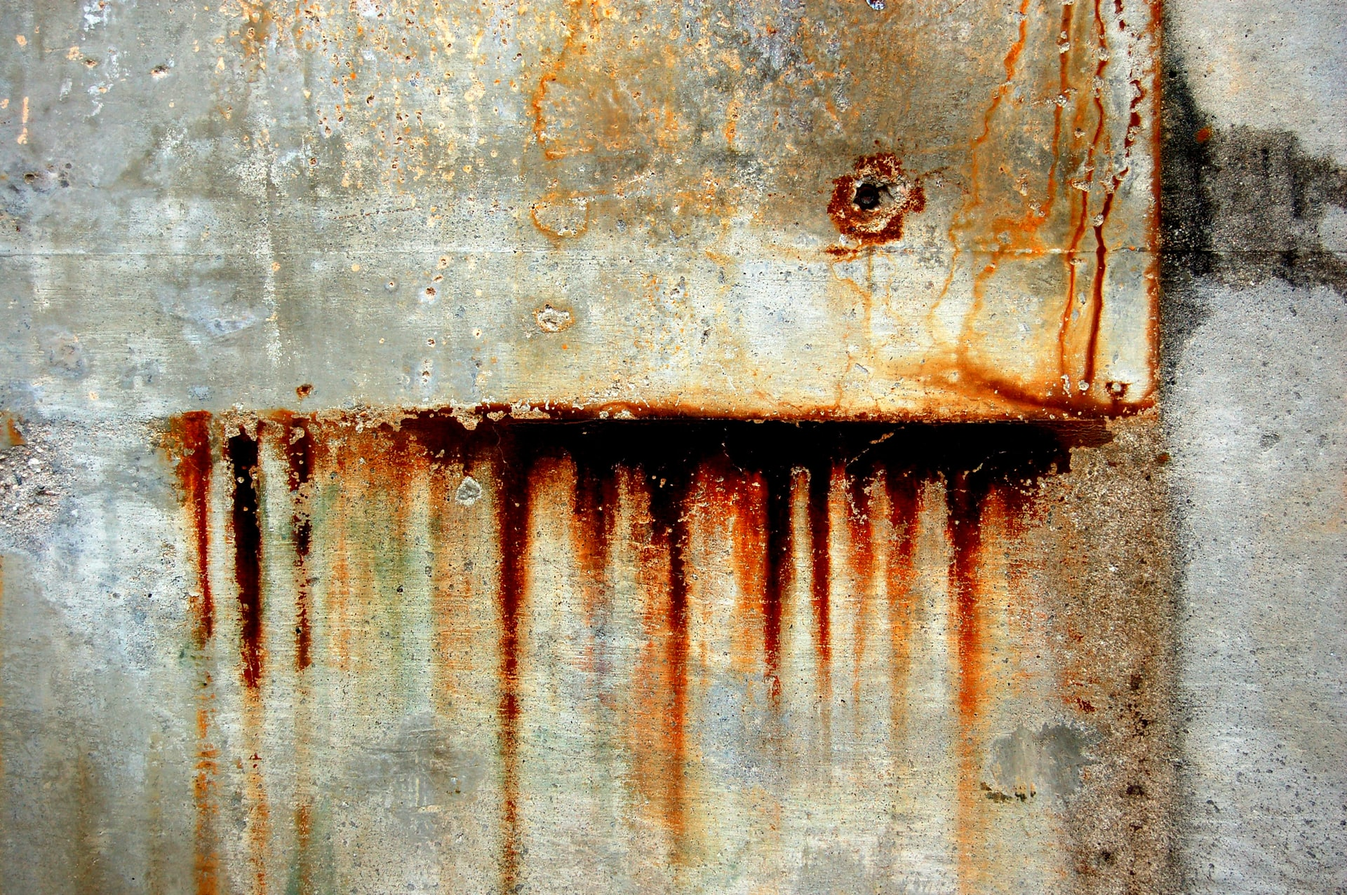 water rust stains